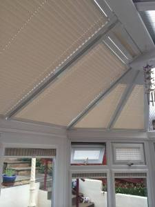completed conservatory blinds