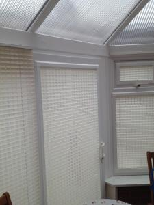 perfect fit pleated window blinds.