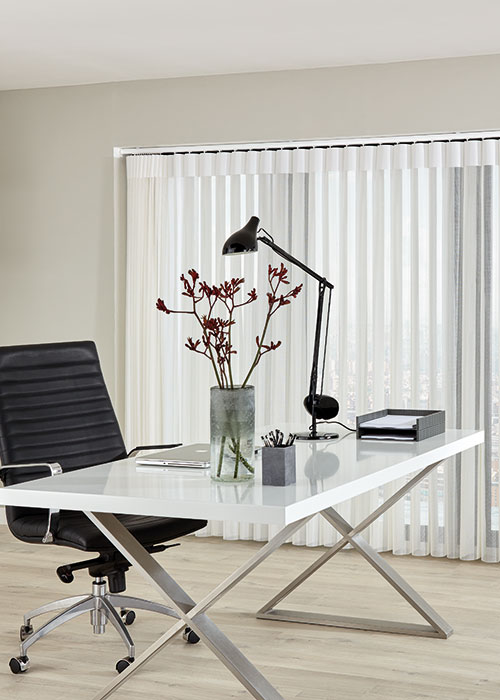 Allusion blind in office