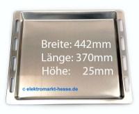 Alu-Backblech 442x370x25mm Original-Ersatz Bosch/Siemens ...