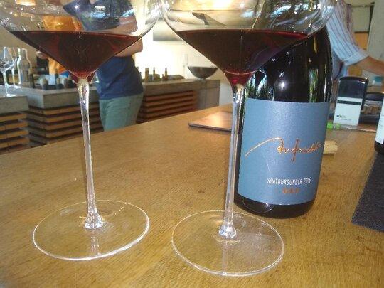 Bed & Wine Spätburgunder Isabel aus dem Weingut Aufricht am Bodensee