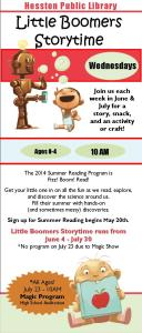 SRP Storytime Schedule 2014