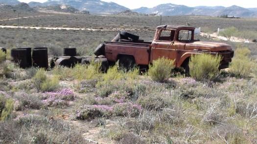 Namaqualand - an abandoned truck