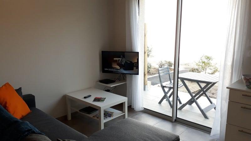 TV et Canal Plus dans location pour curistes et vacanciers à Jonzac