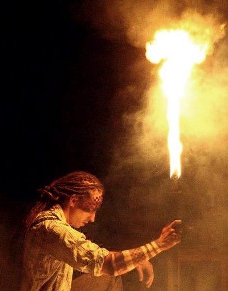 fire artist