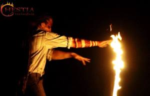 fire dance performance