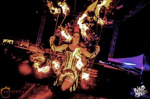 Hestia Fire dance show