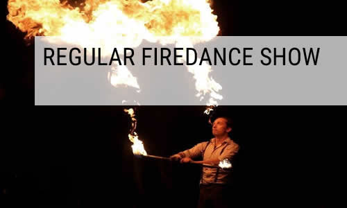 regular firedance show
