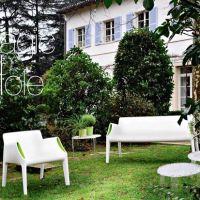 Italiaans design tuinset Magic Hole van Philippe Starck