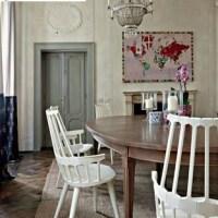 Kartell Comback Chair moderne Windsor stoel in wit OPRUIMING