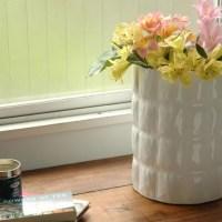 Kartell Matelassé design vaas in wit of olijf