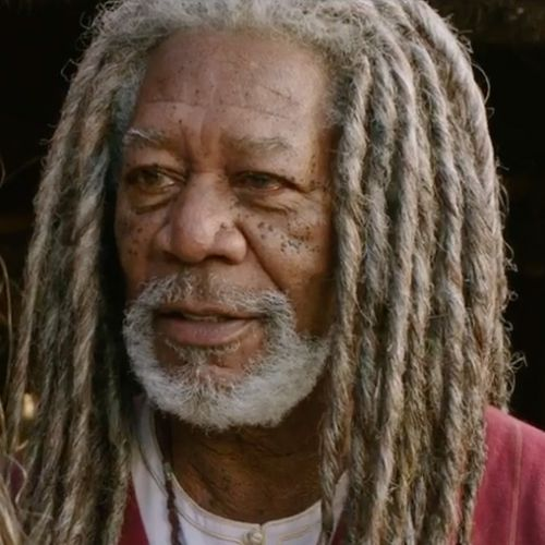 Image result for morgan freeman dreadlocks
