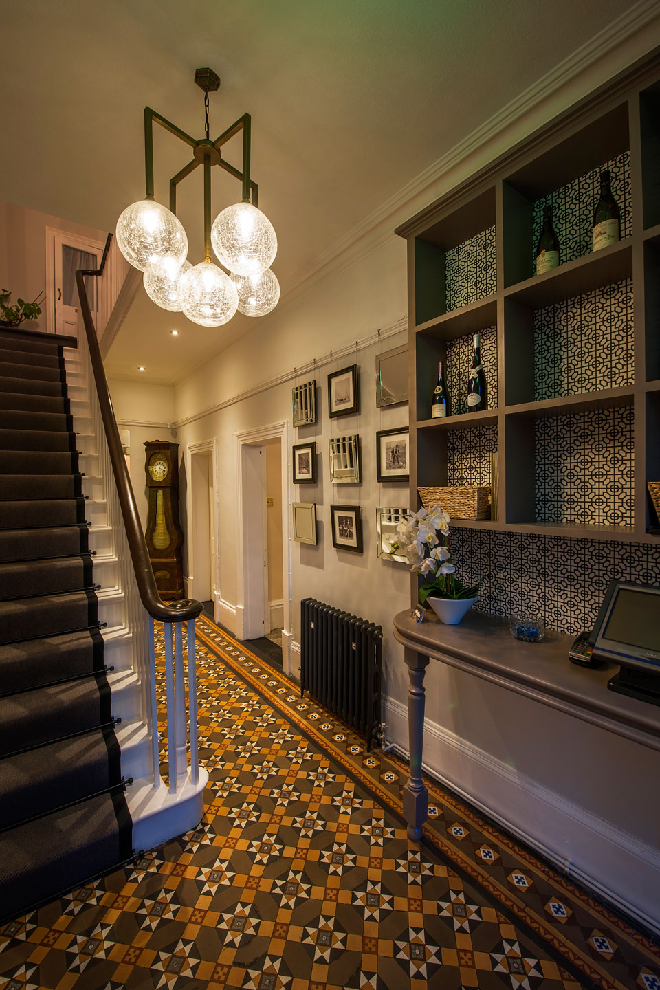 Pascal at the Old Vicarage  Restaurant Interior Design Staffordshire