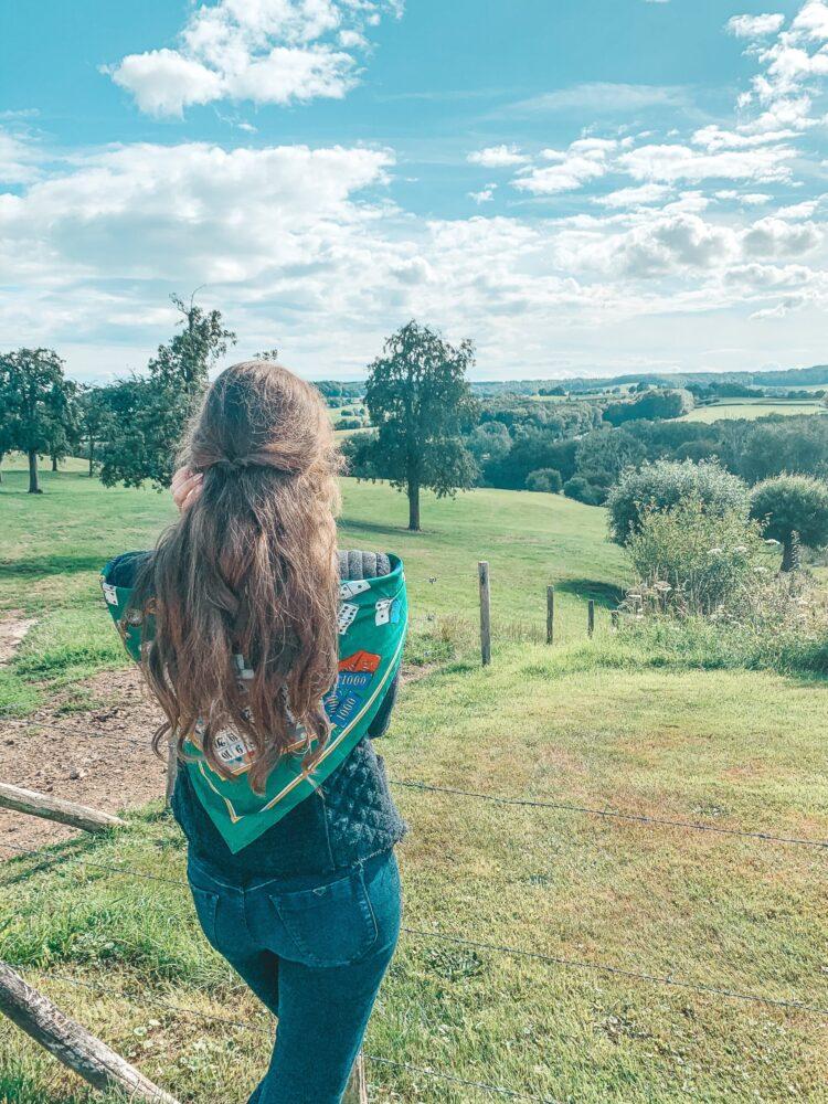 Het Gezinsleven - Uitstapjes - Natuur - Ontdek de mooiste plekken in de natuur in Limburg - Uitzicht over et heuvellandschap