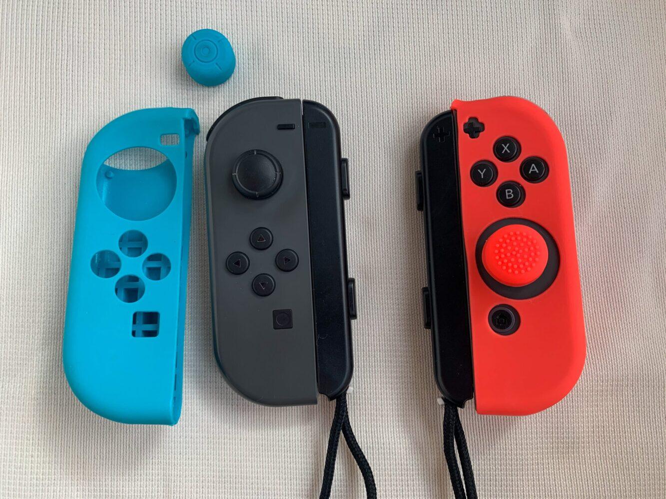 Het Gezinsleven - Gezinsactiviteiten - Speelgoed - De Nintendo Switch - Hoe je de Joy Cons beschermd tegen vallen
