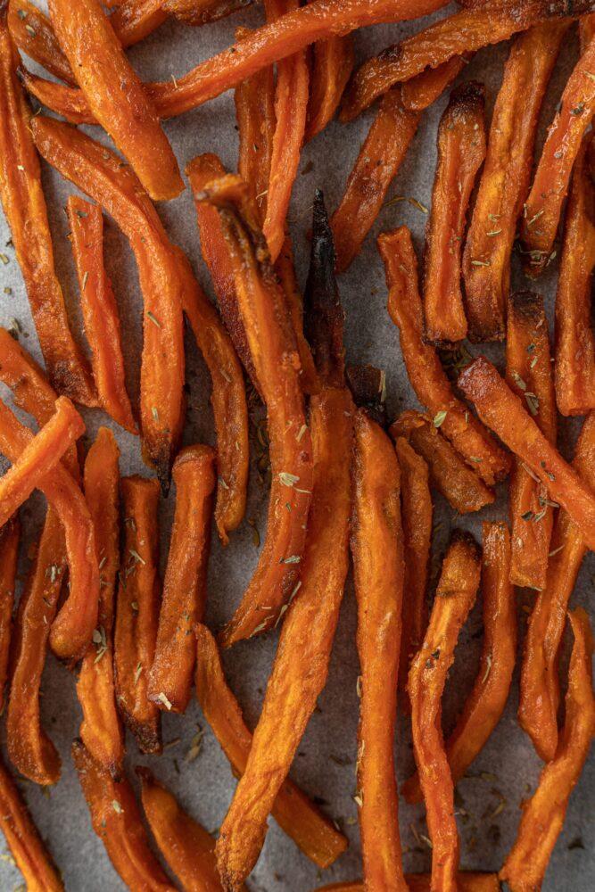 Het Gezinsleven - Lifestyle - Koken en Recepten - Vegan Fastfood - Zoete aardappel friet