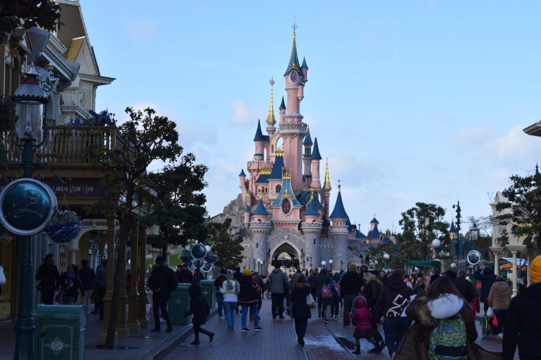 Het Gezinsleven - Uitstapjes - Pretparken - Disneyland Parijs - Het Disney kasteel