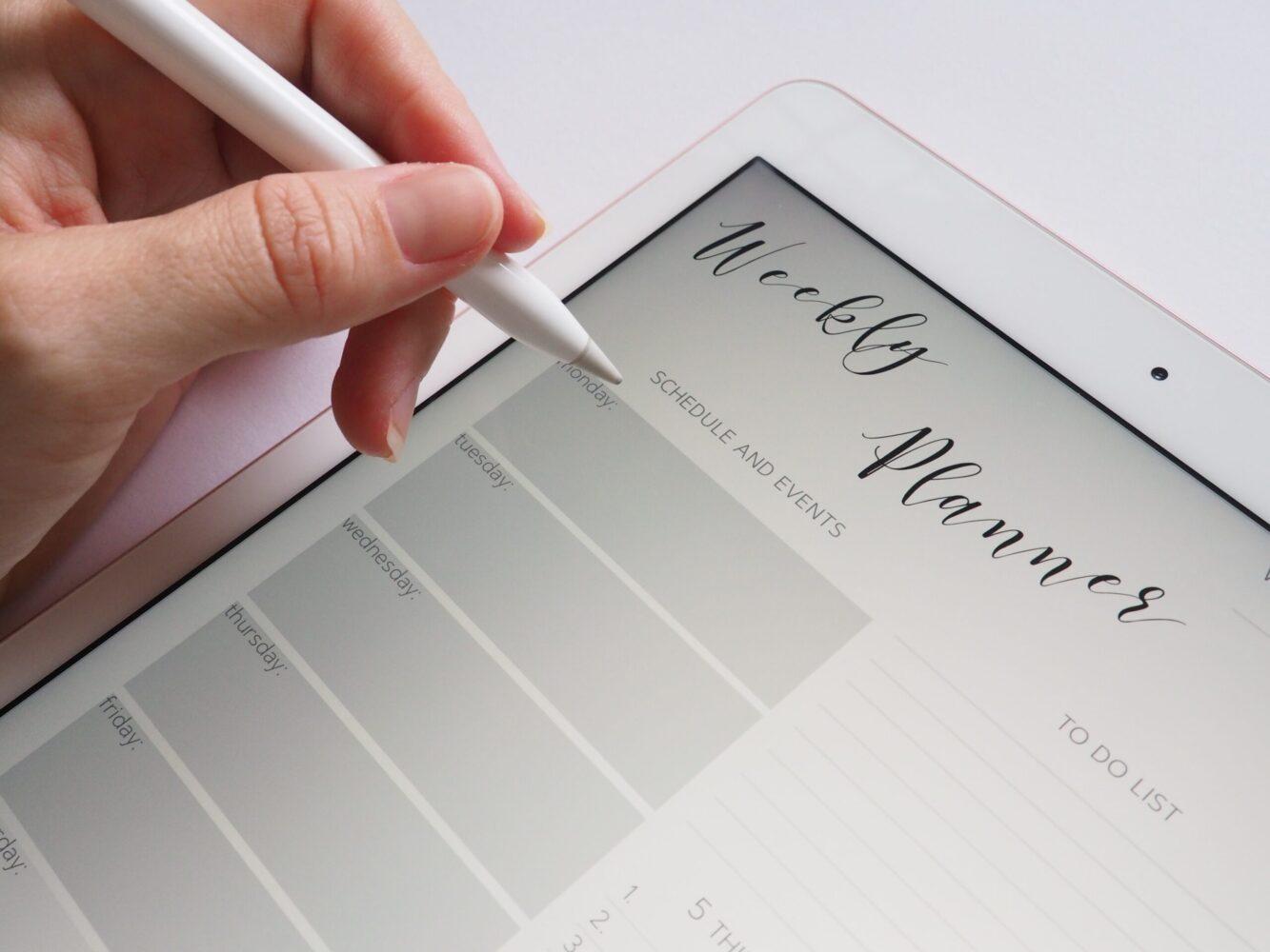 Het Gezinsleven - Lifestyle - Mindset - Een weekplanning maken, hoe doe je dat? Onze 13 tips! - Digitale planner