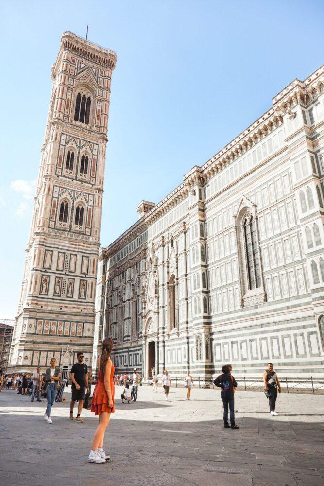 Het Gezinsleven - Vakanties - Europa - De 10 mooiste steden in de Toscane - Plein in Florence