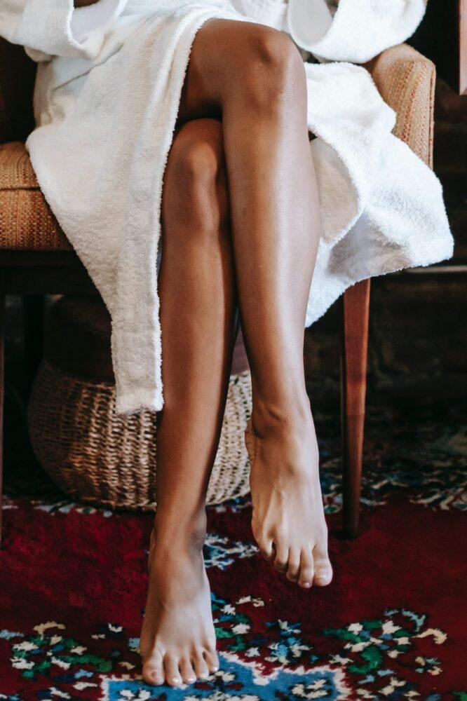 Het Gezinsleven - Lifestyle - Gezondheid en verzorging - Het seizoen van de zelfbruiners is weer aangebroken! - Mooi, bruin kleurtje op de benen