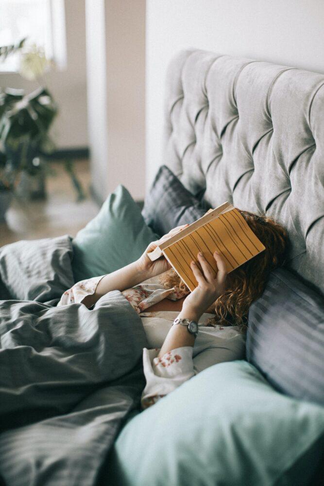 Het Gezinsleven - Lifestyle - Mindset - Beter slapen met een fijn avondritueel - Lezen