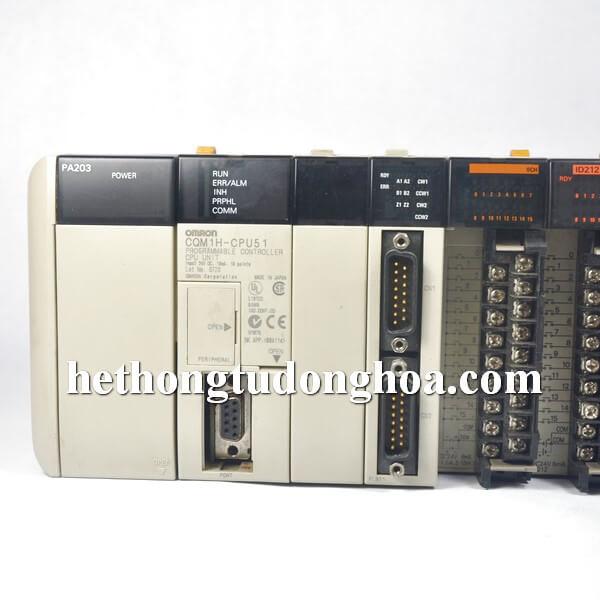plc omron com1h-cpu51