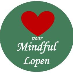 Logo Hart voor Mindful lopen icoon insta, eindversie