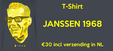 Jan Janssen T-shirt 1968 Avondetappe