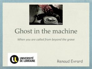 thumbnail of Renaud Evrard- Ghost in the machine