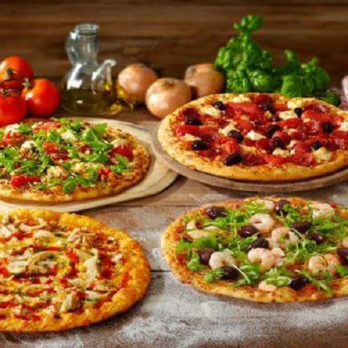 Take Away 2 small pizza's bij New York Pizza Enschede