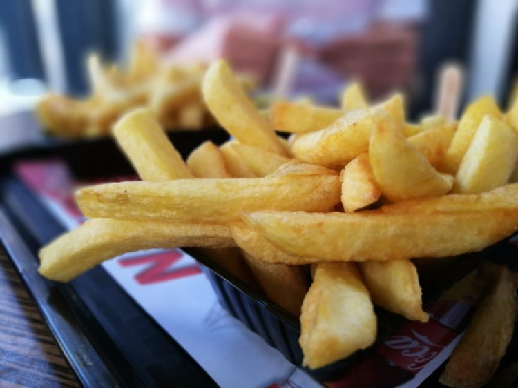 Verse friet bij NEXT Fast-Food