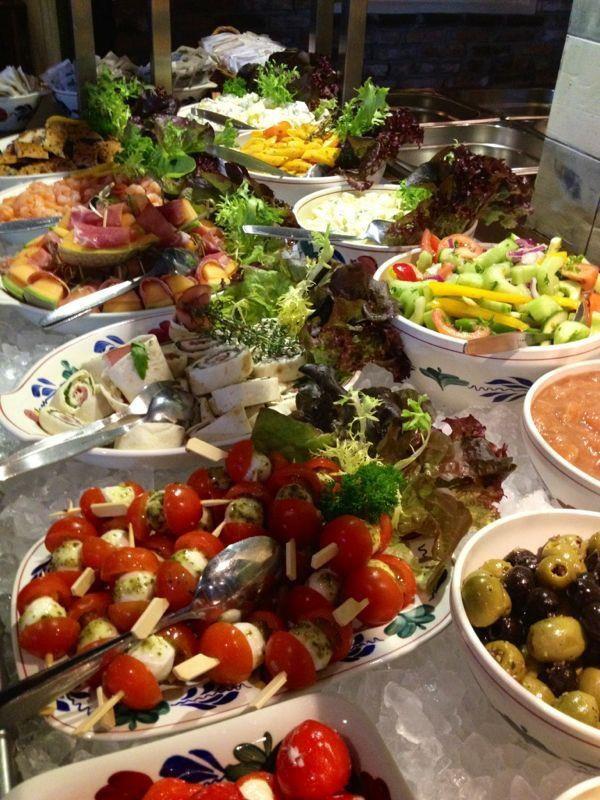 Onbeperkt boergondisch buffet bij De Gulle Boergondiër
