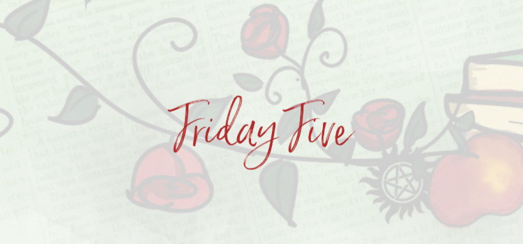 The Friday Five: Roze boeken