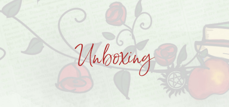 Unboxing: Once upona a bookclub box december