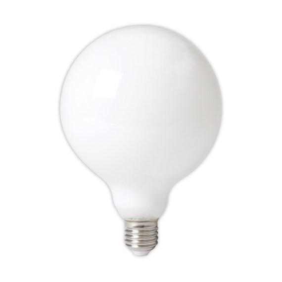 Calex LED 125mm 6W 230V E27 2700K opaal 425486
