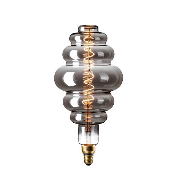 Calex XXL Paris LED 6W E27 Titanium 2200K 425932
