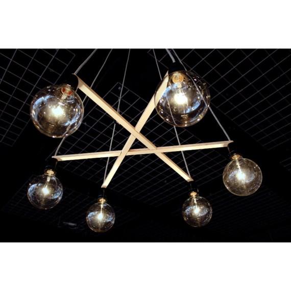 No.37 Hanglamp A-symmetrie zwart by Olaf Weller