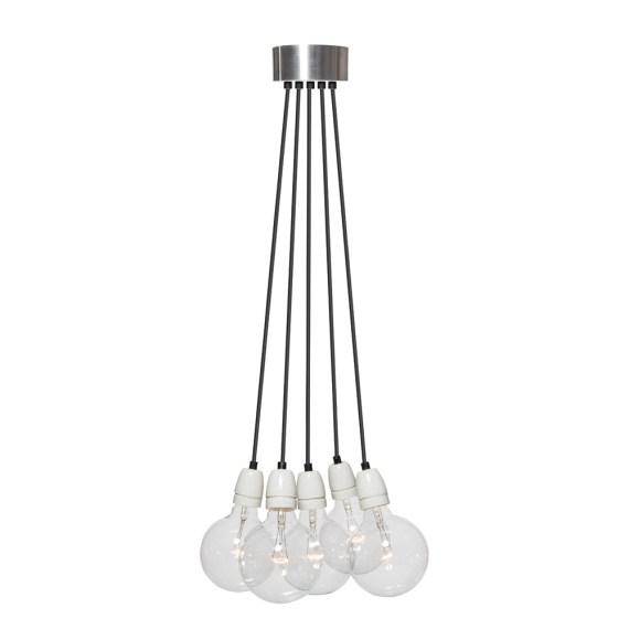 No.8 Hanglamp bundel 5 lichts