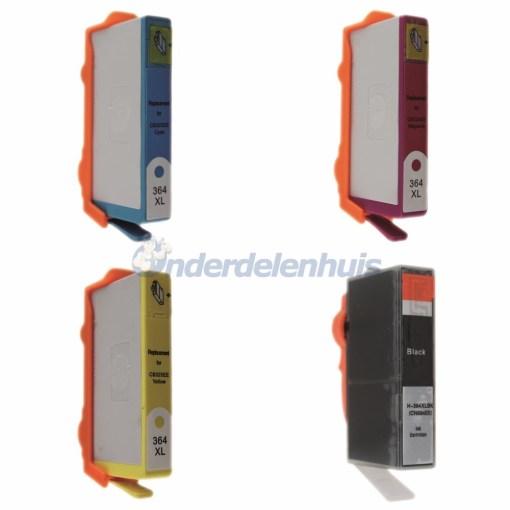 Inksave HP 364XL Inktcartridges