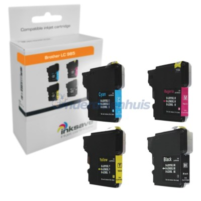Inkt Brother Multipack LC985 Inkt cartridge