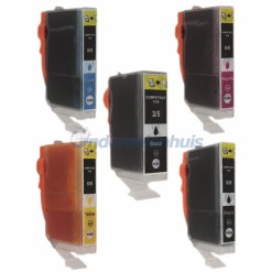 Inksave Canon PGI5 CLI8 Inktpatroon Multipack Inkt
