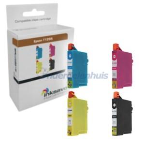Inksave Epson T1295 Multipack Inkt Inktpatroon Inkt cartridge