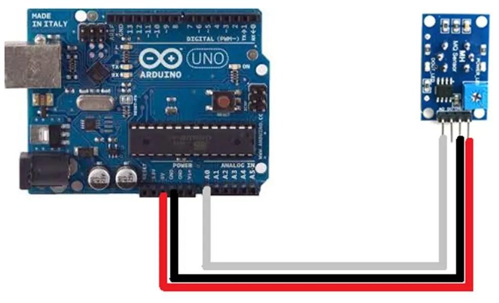 Sensor de Gas MQ2 con Arduino UNO R3 HETPRO TUTORIALES