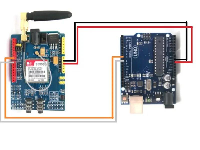 8 Pin Ethernet Wiring Diagram Sim900 Gsm Shield Con Arduino Uno Gprs Sd 2g
