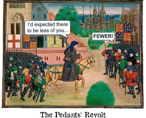 The English Pedantry