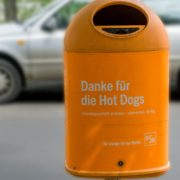 Dog waste bin Berlin
