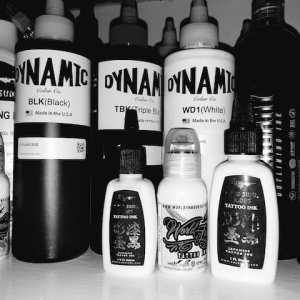 All Blacks & White Ink