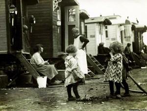 achtergrond woonwagenbewoners