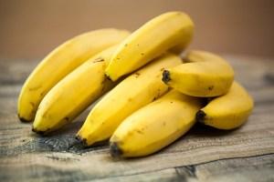Bananas Food Fruit Healthy Diet