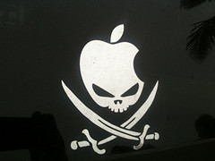 Drapeau pirate de Macintosh